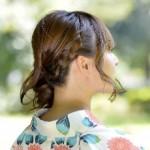 浴衣に似合う髪型 華やかなハーフアップの簡単おすすめアレンジは?
