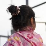 子どもの浴衣に合う髪型 簡単ヘアアレンジをご紹介