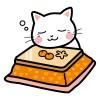 年賀状に使えるおしゃれな猫のイラスト無料素材と画像サイト♪
